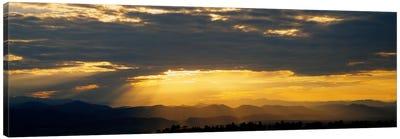 Clouds in the sky, Daniels Park, Denver, Colorado, USA Canvas Art Print