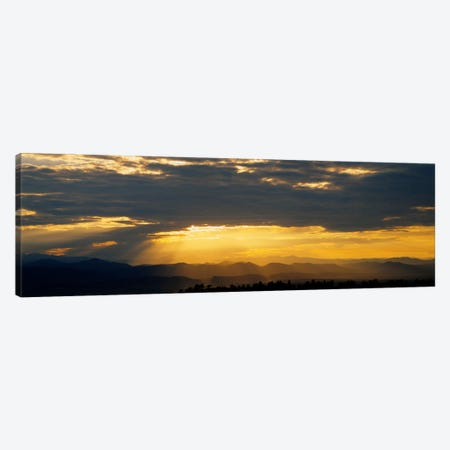 Clouds in the sky, Daniels Park, Denver, Colorado, USA Canvas Print #PIM572} by Panoramic Images Canvas Artwork