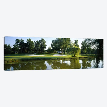 Lake on a golf courseTantallon Country Club, Fort Washington, Maryland, USA Canvas Print #PIM5760} by Panoramic Images Canvas Art Print