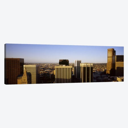 Skyscrapers in a cityDenver, Colorado, USA Canvas Print #PIM5761} by Panoramic Images Canvas Art Print