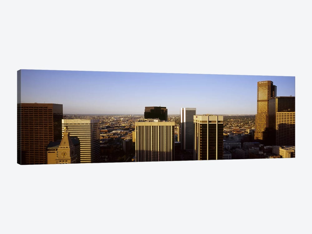 Skyscrapers in a cityDenver, Colorado, USA by Panoramic Images 1-piece Canvas Wall Art