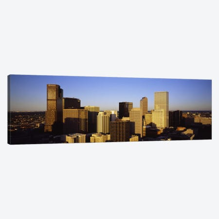 Skyscrapers in a cityDenver, Colorado, USA Canvas Print #PIM5762} by Panoramic Images Canvas Art Print