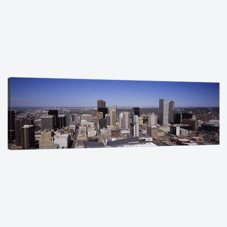 Skyscrapers in a cityDenver, Colorado, USA Canvas Print #PIM5763} by Panoramic Images Art Print