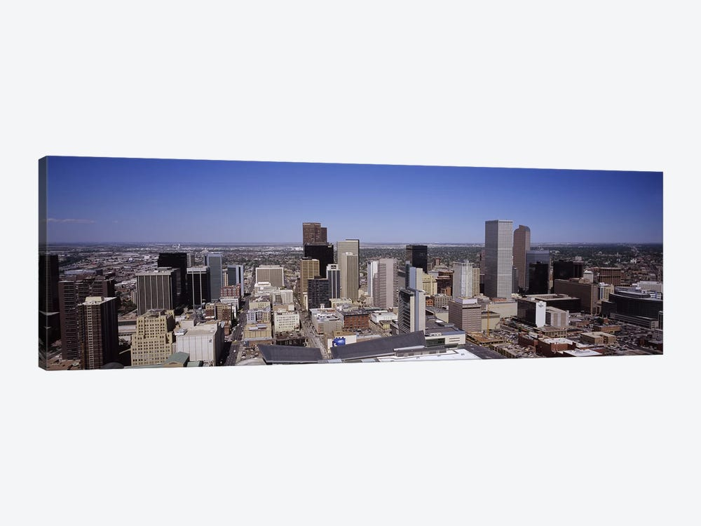 Skyscrapers in a cityDenver, Colorado, USA by Panoramic Images 1-piece Canvas Art