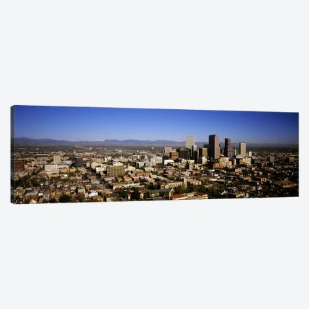 Skyscrapers in a cityDenver, Colorado, USA Canvas Print #PIM5764} by Panoramic Images Canvas Art