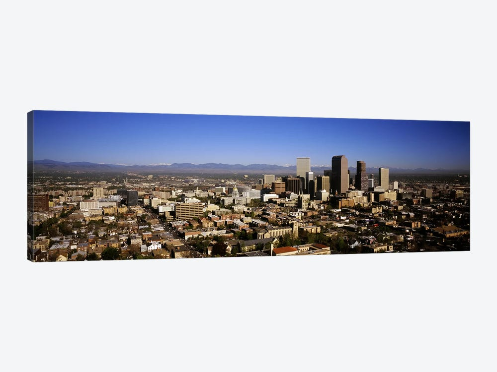 Skyscrapers in a cityDenver, Colorado, USA by Panoramic Images 1-piece Art Print