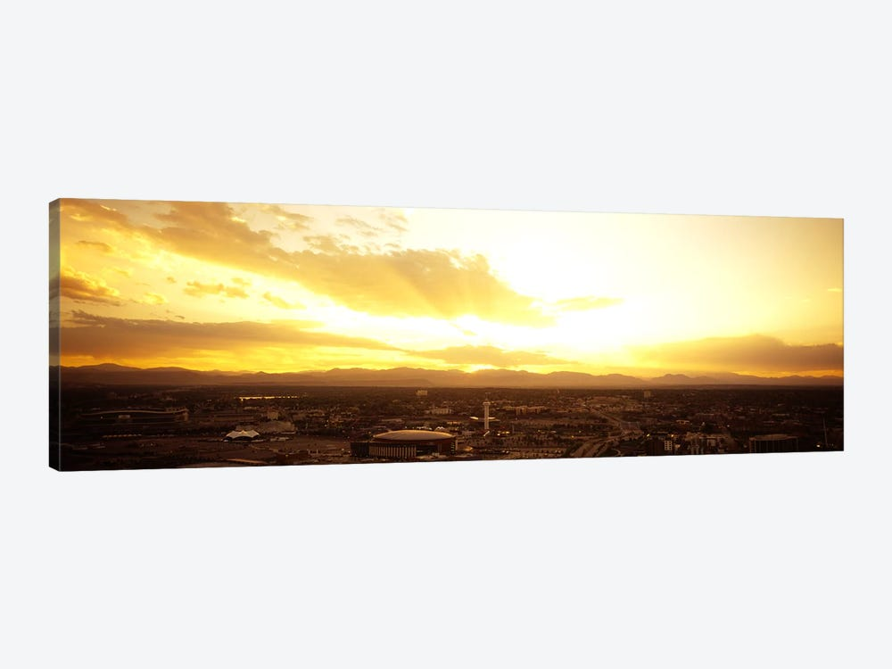 Clouds over a cityDenver, Colorado, USA by Panoramic Images 1-piece Canvas Art