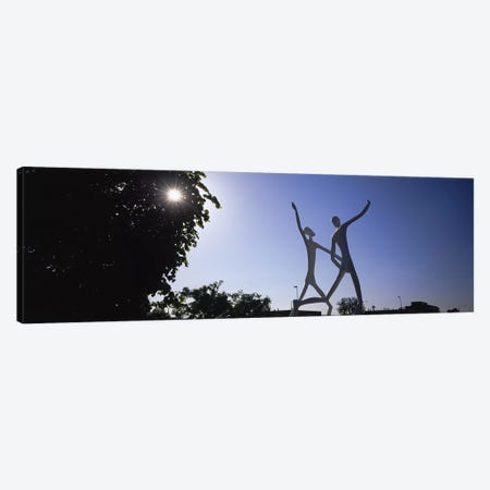 Low angle view of sculptures, Colorado Convention Center, Denver, Colorado, USA Canvas Print #PIM5769} by Panoramic Images Canvas Print