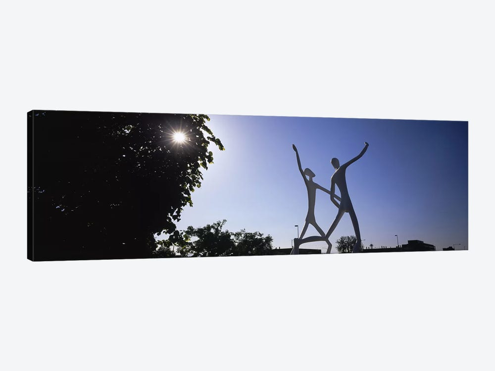 Low angle view of sculptures, Colorado Convention Center, Denver, Colorado, USA by Panoramic Images 1-piece Canvas Artwork