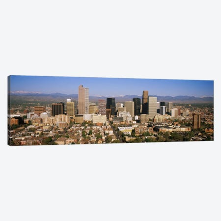 Skyscrapers in a city, Denver, Colorado, USA Canvas Print #PIM5770} by Panoramic Images Canvas Wall Art