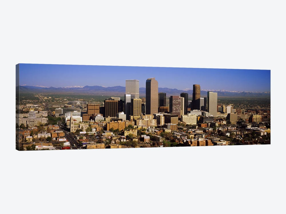 Skyscrapers in a city, Denver, Colorado, USA #2 by Panoramic Images 1-piece Canvas Art Print