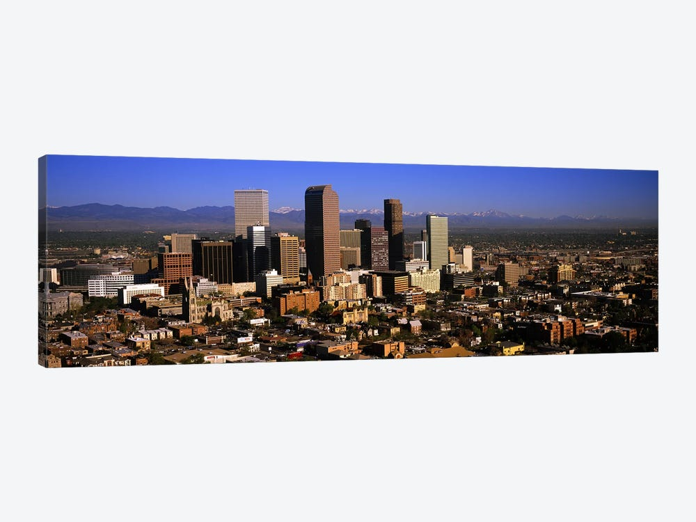 Skyscrapers in a city, Denver, Colorado, USA #3 1-piece Canvas Wall Art