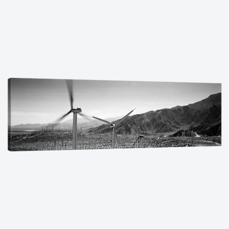 Wind turbines on a landscape Canvas Print #PIM5801} by Panoramic Images Canvas Wall Art