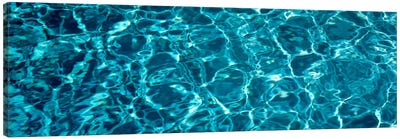 Swimming Pool Ripples Sacramento CA USA Canvas Art Print