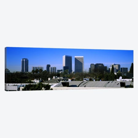 Buildings and skyscrapers in a city, Century City, City of Los Angeles, California, USA Canvas Print #PIM5810} by Panoramic Images Art Print