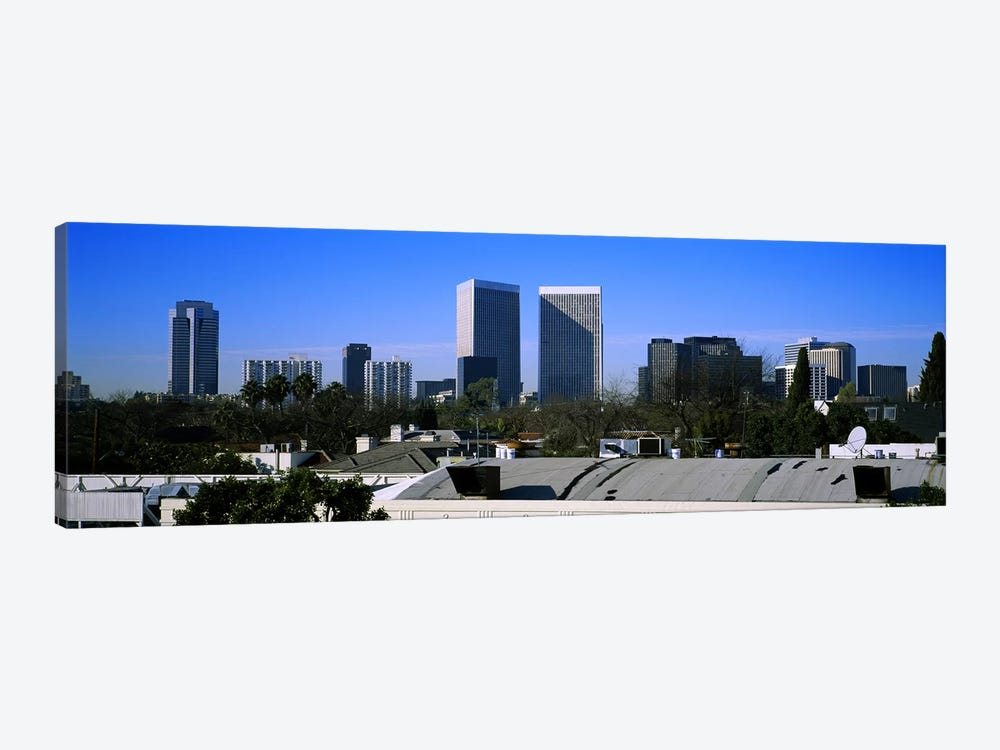 Buildings and skyscrapers in a city, Century City, City of Los Angeles, California, USA by Panoramic Images 1-piece Canvas Artwork
