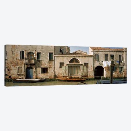 Waterfront Architecture, Rio de la Pieta, Venice, Italy Canvas Print #PIM5815} by Panoramic Images Canvas Artwork