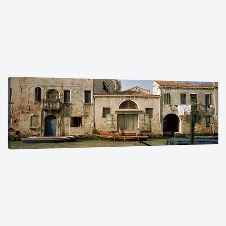 Waterfront Architecture, Rio de la Pieta, Venice, Italy Canvas Print #PIM5815} by Panoramic Images Canvas Artwork