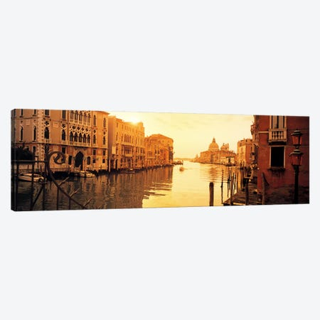 Waterfront Property, Grand Canal, Venice, Italy Canvas Print #PIM5827} by Panoramic Images Canvas Print