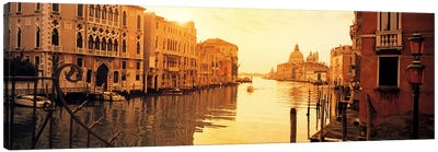 Waterfront Property, Grand Canal, Venice, Italy Canvas Print #PIM5827