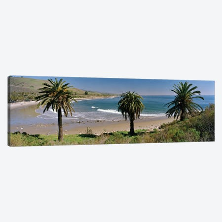 Coastal Landscape, Refugio State Beach, Santa Barbara, California, USA Canvas Print #PIM5840} by Panoramic Images Canvas Art