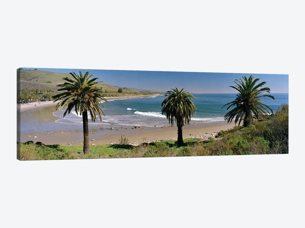 Coastal Landscape, Refugio State Beach, Santa Barbara, California, USA by Panoramic Images 1-piece Canvas Print