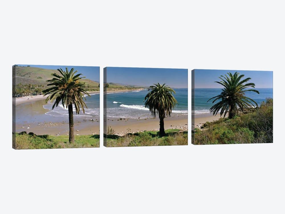 Coastal Landscape, Refugio State Beach, Santa Barbara, California, USA by Panoramic Images 3-piece Art Print