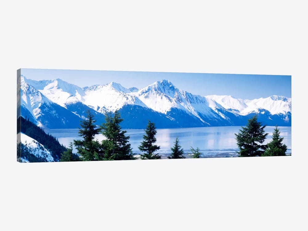 Turnagain Arm Girdwood AK USA by Panoramic Images 1-piece Canvas Art Print