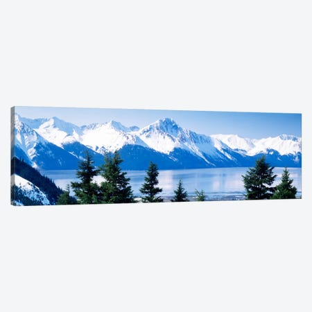 Turnagain Arm Girdwood AK USA Canvas Print #PIM585} by Panoramic Images Canvas Artwork