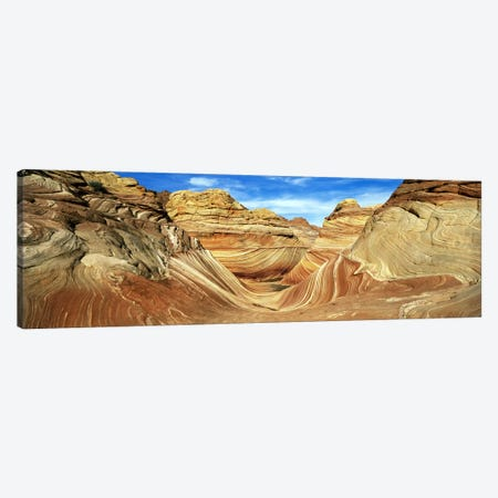 The Wave, Coyote Buttes, Paria Canyon-Vermillion Cliffs Wilderness, Coconino County, Arizona, USA Canvas Print #PIM5865} by Panoramic Images Canvas Art Print