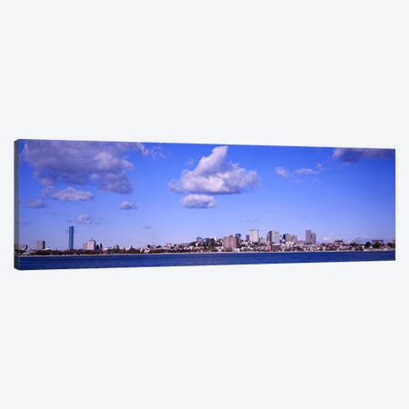 City at the waterfront, Boston, Massachusetts, USA Canvas Print #PIM5879} by Panoramic Images Canvas Print