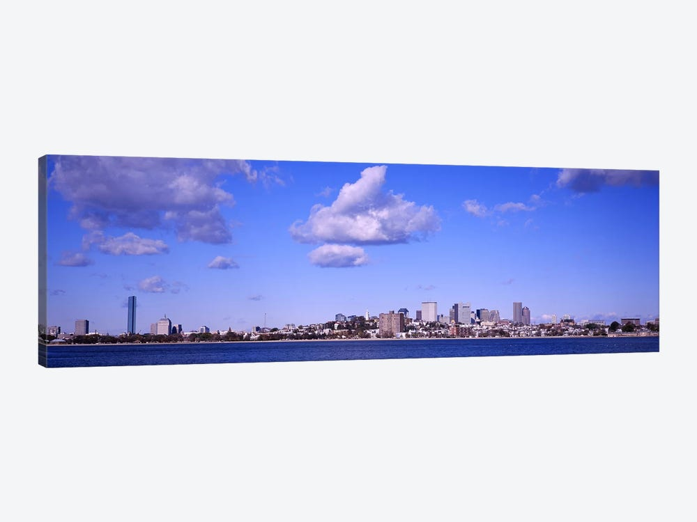City at the waterfront, Boston, Massachusetts, USA by Panoramic Images 1-piece Art Print