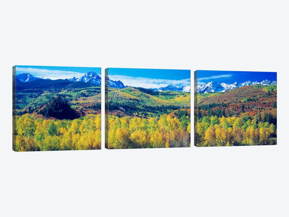 Mountain Landscape, San Juan Mountains, Colorado, USA by Panoramic Images 3-piece Canvas Art