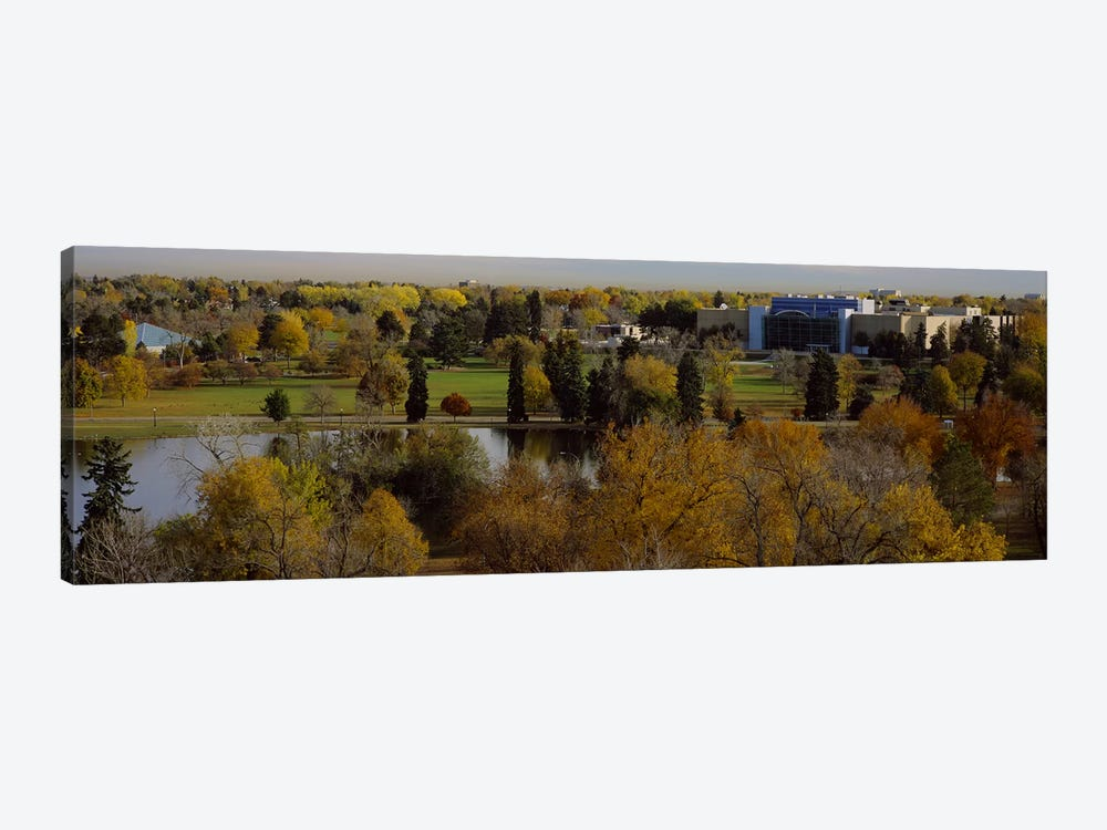 High angle view of trees, Denver, Colorado, USA by Panoramic Images 1-piece Canvas Print