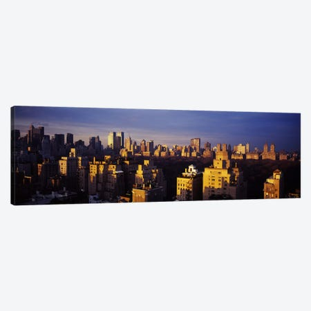 High angle view of a cityscape, Central Park, Manhattan, New York City, New York State, USA Canvas Print #PIM5898} by Panoramic Images Art Print