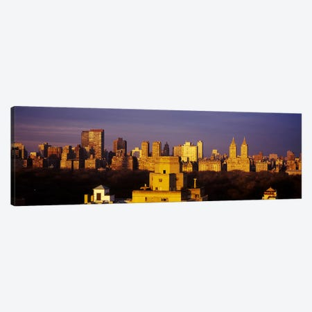 High angle view of a cityscape, Central Park, Manhattan, New York City, New York State, USA #2 Canvas Print #PIM5899} by Panoramic Images Canvas Print