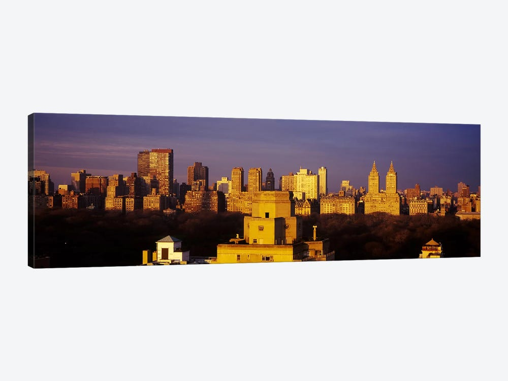 High angle view of a cityscape, Central Park, Manhattan, New York City, New York State, USA #2 by Panoramic Images 1-piece Art Print