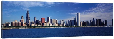 Skyline From Lake Michigan, Chicago, Illinois, USA Canvas Art Print