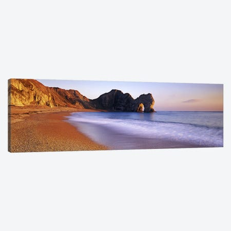 Durdle Door, Dorset, Jurrasic Coast, England, United Kingdom Canvas Print #PIM5905} by Panoramic Images Canvas Wall Art