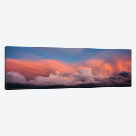 Sunset UT USA Canvas Print #PIM593} by Panoramic Images Canvas Art
