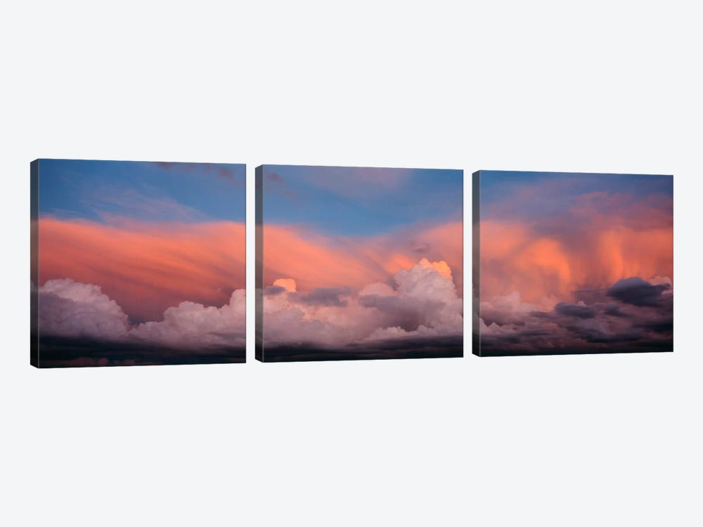 Sunset UT USA by Panoramic Images 3-piece Canvas Artwork