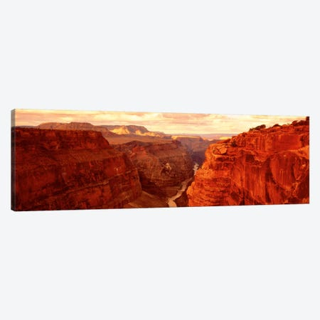 View From Toroweap Point, Grand Canyon National Park, Arizona, USA Canvas Print #PIM594} by Panoramic Images Canvas Art Print