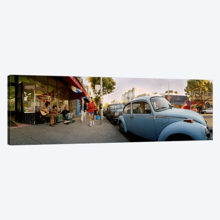 Cars parked in front of a store, Haight-Ashbury, San Francisco, California, USA Canvas Print #PIM5956} by Panoramic Images Canvas Art Print