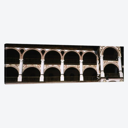 Low angle view of a monastery, Rila Monastery, Bulgaria Canvas Print #PIM5984} by Panoramic Images Canvas Artwork