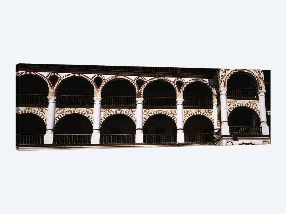 Low angle view of a monastery, Rila Monastery, Bulgaria by Panoramic Images 1-piece Canvas Art