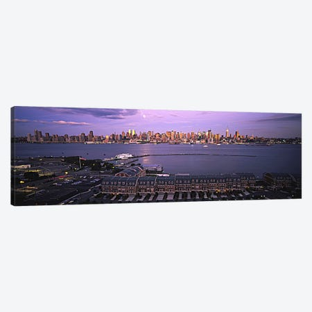 Skyscrapers at the waterfront, Manhattan, New York City, New York State, USA #3 Canvas Print #PIM5990} by Panoramic Images Canvas Wall Art
