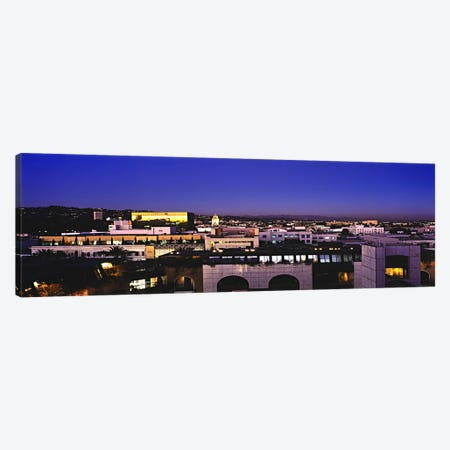Nighttime Cityscape As Seen From The Hollywood Hills, Los Angeles County, California, USA Canvas Print #PIM5997} by Panoramic Images Canvas Print