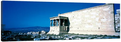 Parthenon Complex Athens Greece Canvas Art Print