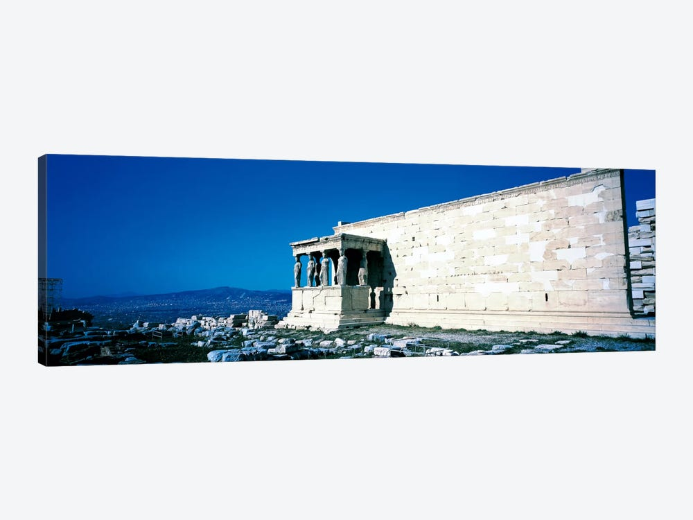 Parthenon Complex Athens Greece by Panoramic Images 1-piece Canvas Art
