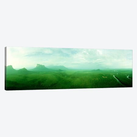 Misty Rainforest Landscape, Amazonas State, Venezuela Canvas Print #PIM5} by Panoramic Images Canvas Print